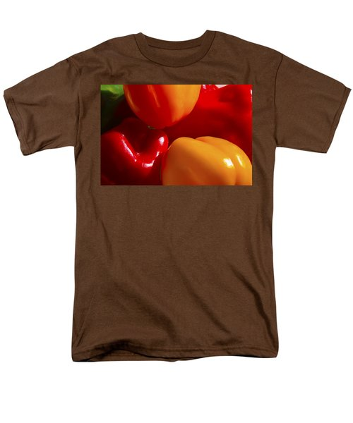 Men's T-Shirt  (Regular Fit) featuring the photograph Colorful Bells by Gary Holmes