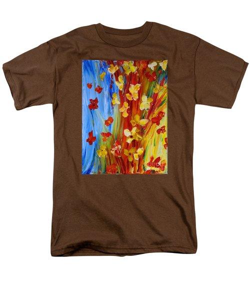 Colorful World Men's T-Shirt  (Regular Fit)