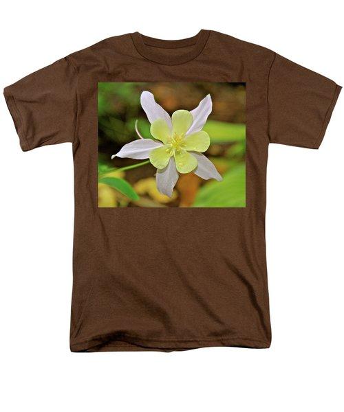 Columbine Charlie's Garden Men's T-Shirt  (Regular Fit) by Ed  Riche