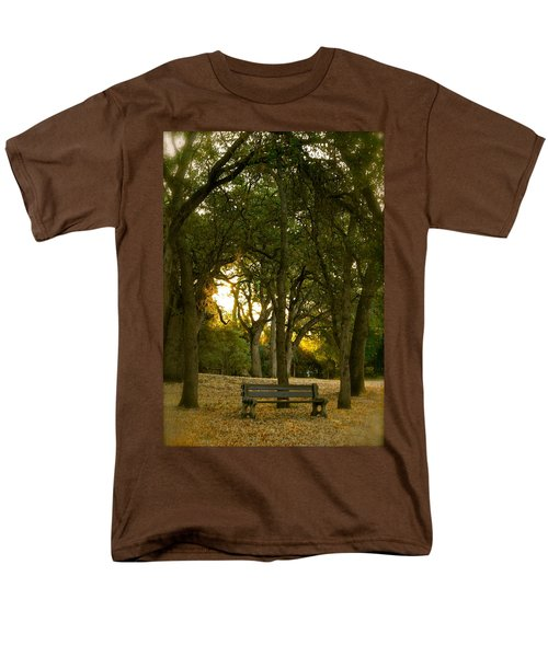 Come Sit Awhile Men's T-Shirt  (Regular Fit) by Michele Myers