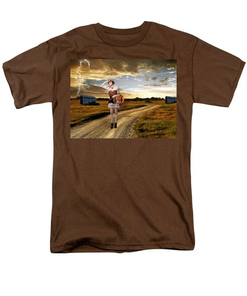 Men's T-Shirt  (Regular Fit) featuring the photograph Coming Home by Ester  Rogers