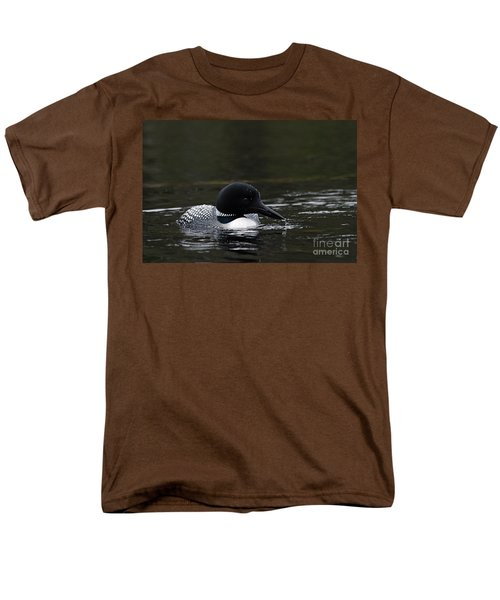 Common Loon 1 Men's T-Shirt  (Regular Fit) by Larry Ricker