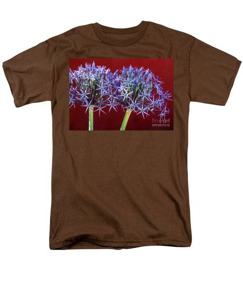 Men's T-Shirt  (Regular Fit) featuring the photograph Flowering Onions by Roselynne Broussard