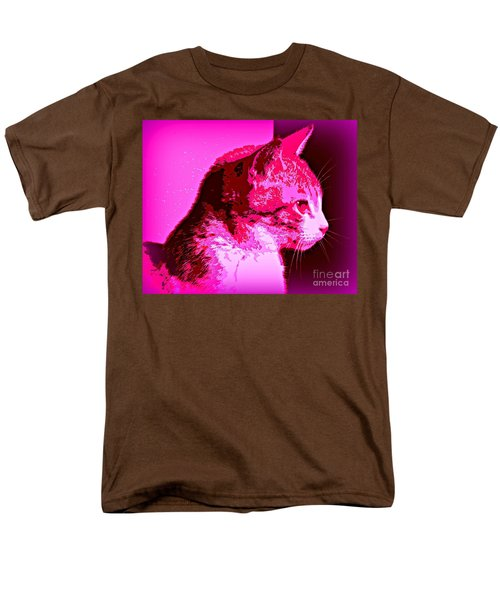 Men's T-Shirt  (Regular Fit) featuring the photograph Cool Cat by Clare Bevan