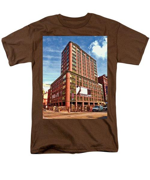 Cooper Exterior Men's T-Shirt  (Regular Fit) by Steve Sahm