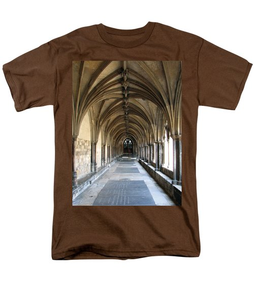 Men's T-Shirt  (Regular Fit) featuring the photograph Corridor Of Arches by Stephanie Grant