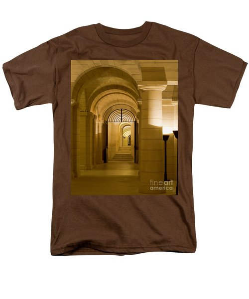 Corridors Men's T-Shirt  (Regular Fit) by Victoria Harrington