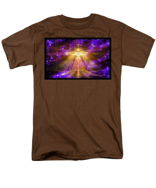 Cosmic Angel Men's T-Shirt  (Regular Fit) by Shawn Dall