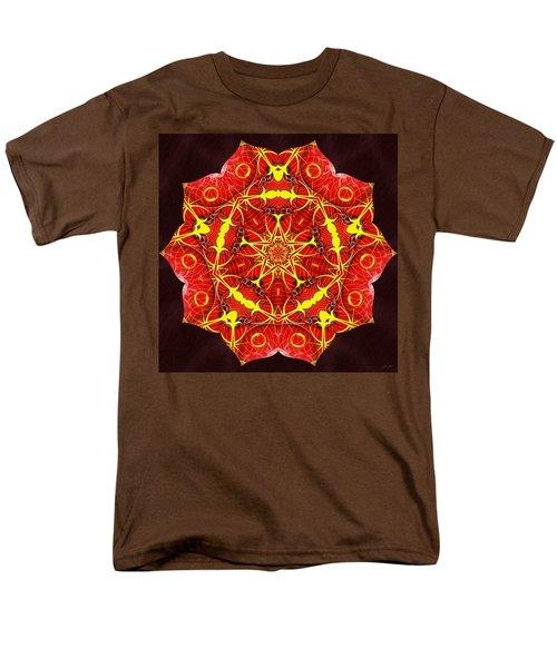 Cosmic Masculine Firestar Men's T-Shirt  (Regular Fit)