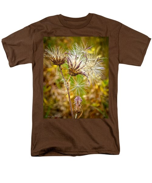 Men's T-Shirt  (Regular Fit) featuring the photograph Cotten Grass by Jim Thompson