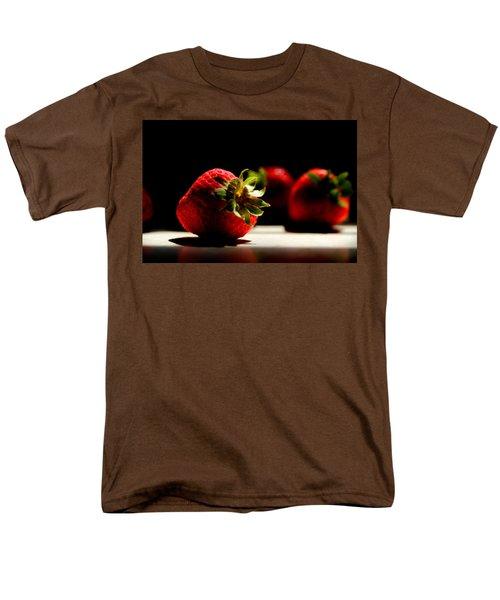 Countertop Strawberries Men's T-Shirt  (Regular Fit) by Michael Eingle