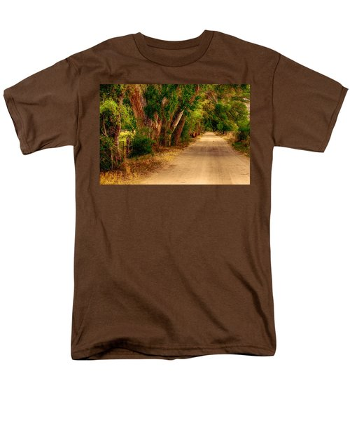 Country Road Men's T-Shirt  (Regular Fit) by Fred Larson