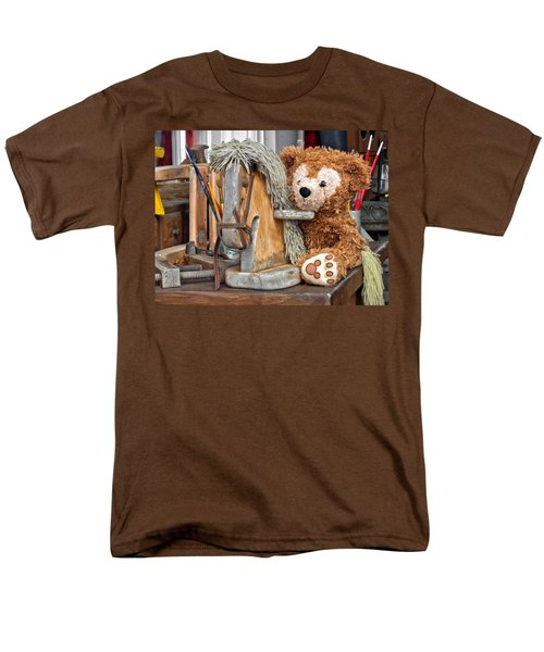Men's T-Shirt  (Regular Fit) featuring the photograph Cowboy Bear by Thomas Woolworth