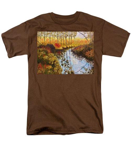 Cranberry Bog Men's T-Shirt  (Regular Fit) by Jason Williamson