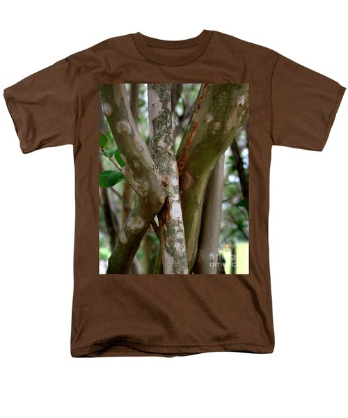 Crape Myrtle Branches Men's T-Shirt  (Regular Fit) by Peter Piatt