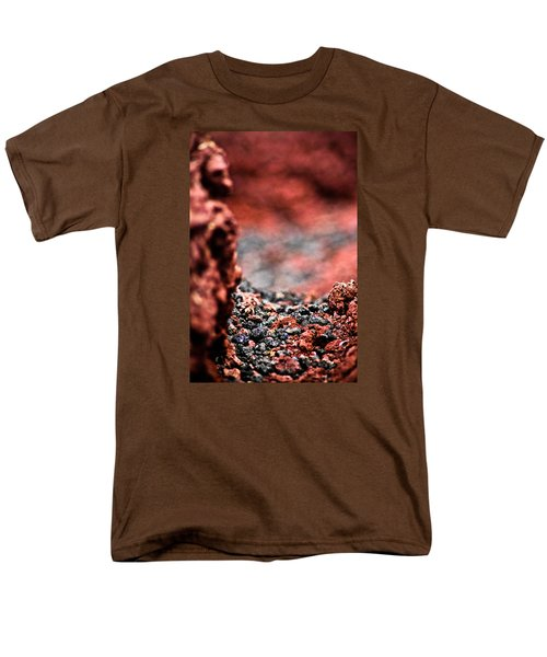 Men's T-Shirt  (Regular Fit) featuring the photograph Craters Of The Moon 1 by Joel Loftus