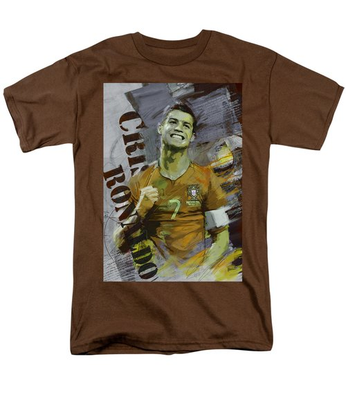 Cristiano Ronaldo Men's T-Shirt  (Regular Fit) by Corporate Art Task Force
