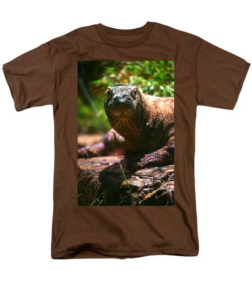 Curious Komodo Men's T-Shirt  (Regular Fit) by Lon Casler Bixby