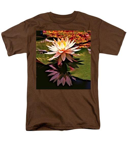 Cypress Garden Water Lily Men's T-Shirt  (Regular Fit) by Bill Barber