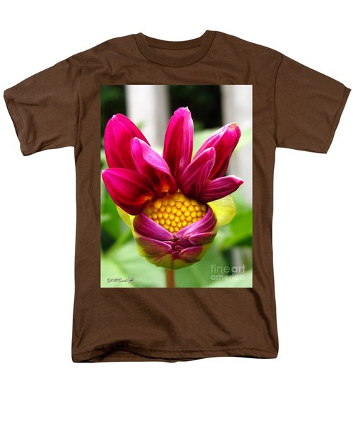 Men's T-Shirt  (Regular Fit) featuring the photograph Dahlia From The Showpiece Mix by J McCombie