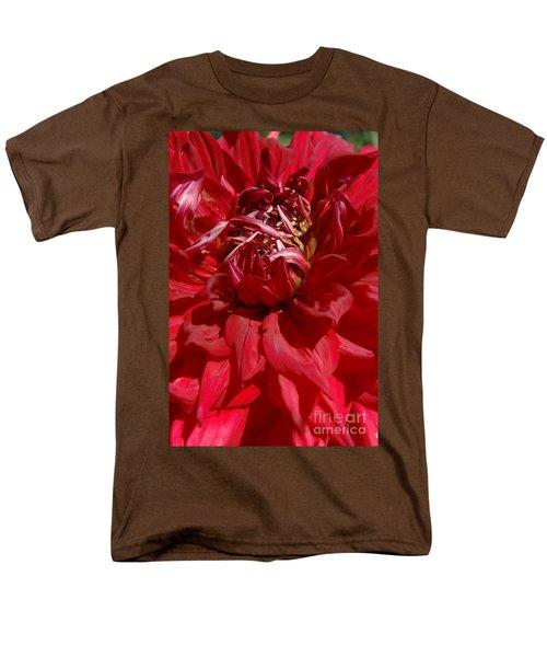 Dahlia Viiii Men's T-Shirt  (Regular Fit) by Christiane Hellner-OBrien