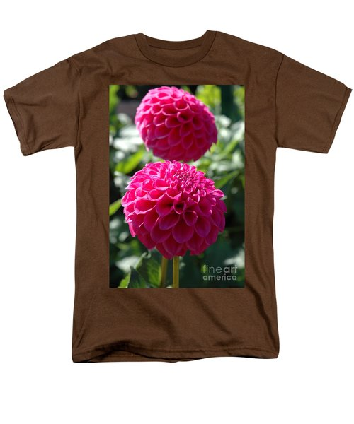 Men's T-Shirt  (Regular Fit) featuring the photograph Dahlia Xi by Christiane Hellner-OBrien