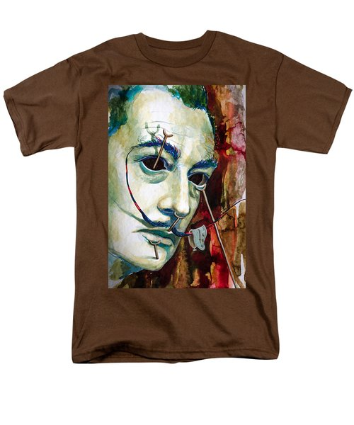 Men's T-Shirt  (Regular Fit) featuring the painting Dali 2 by Laur Iduc