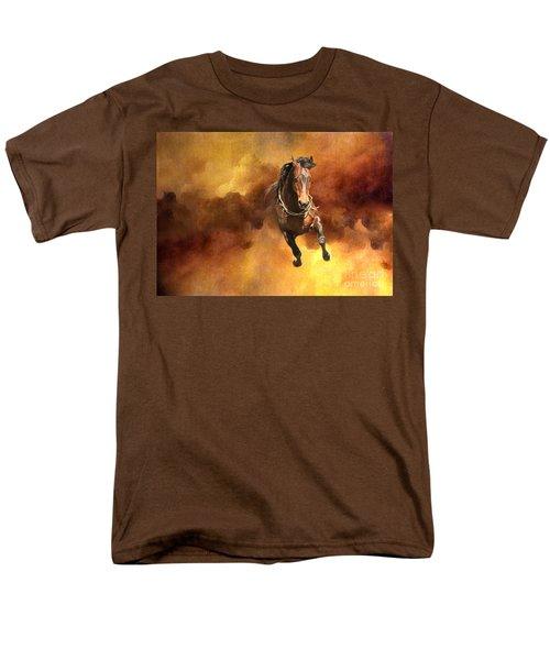 Dancing Free I Men's T-Shirt  (Regular Fit) by Michelle Twohig