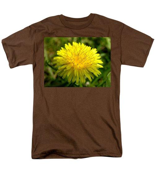 Dandelion Men's T-Shirt  (Regular Fit) by Ron Harpham