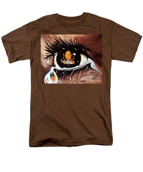 Dark Sorrow  Men's T-Shirt  (Regular Fit) by Jackie Carpenter