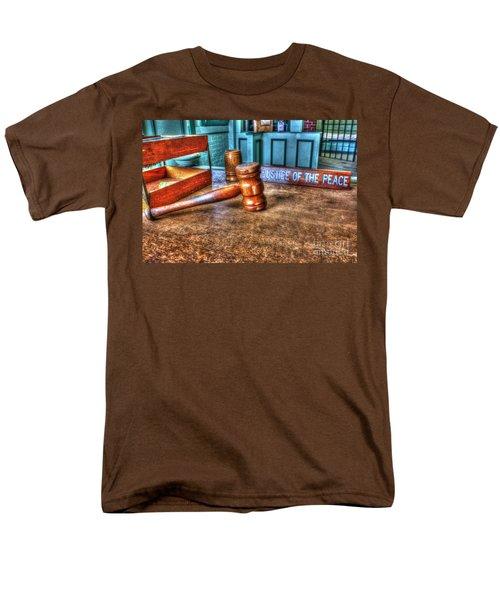 Dealing Justice Men's T-Shirt  (Regular Fit) by Dan Stone