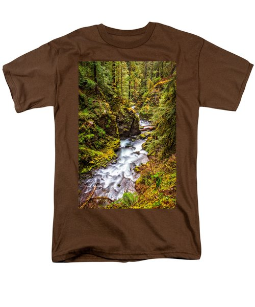 Deep In The Forest Men's T-Shirt  (Regular Fit) by Ken Stanback