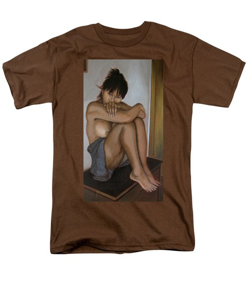 Deep In Thought Men's T-Shirt  (Regular Fit) by Thu Nguyen