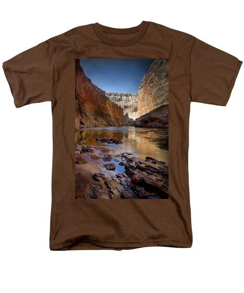 Deep Inside The Grand Canyon Men's T-Shirt  (Regular Fit) by Ellen Heaverlo