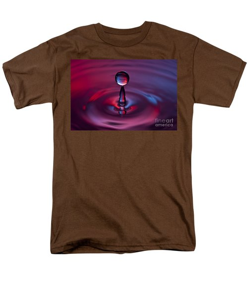 Deep Purple Men's T-Shirt  (Regular Fit) by Anthony Sacco