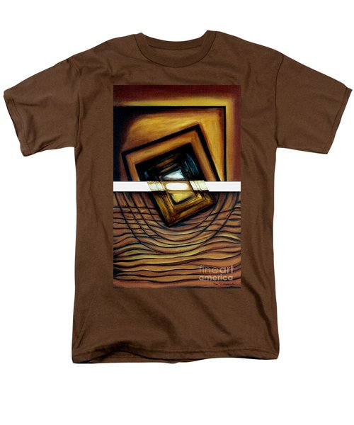 Men's T-Shirt  (Regular Fit) featuring the painting Deversity View by Fei A