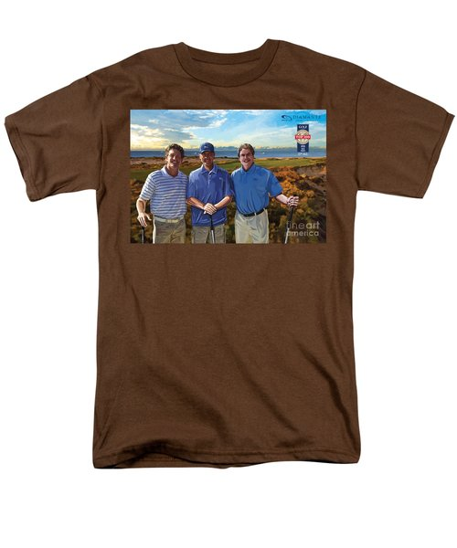 Men's T-Shirt  (Regular Fit) featuring the painting Diamante Golf by Tim Gilliland