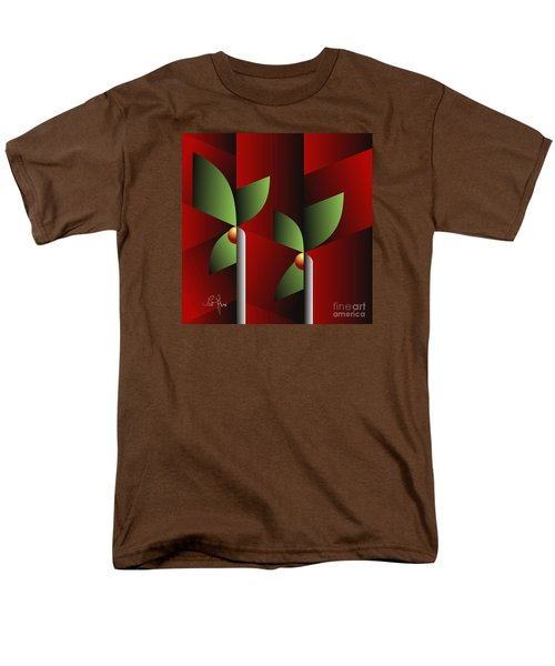 Digital Garden Men's T-Shirt  (Regular Fit) by Leo Symon
