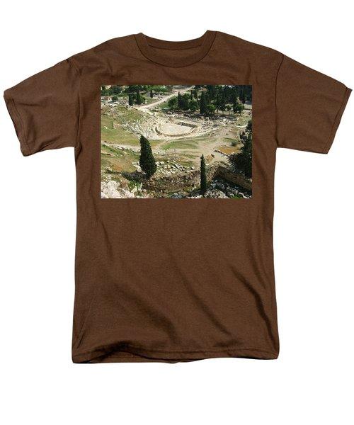 Dionysus Amphitheater Men's T-Shirt  (Regular Fit)