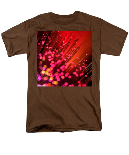 Men's T-Shirt  (Regular Fit) featuring the photograph Disco Inferno by Dazzle Zazz