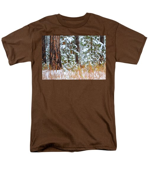 Men's T-Shirt  (Regular Fit) featuring the photograph Do You See Me by Clarice  Lakota