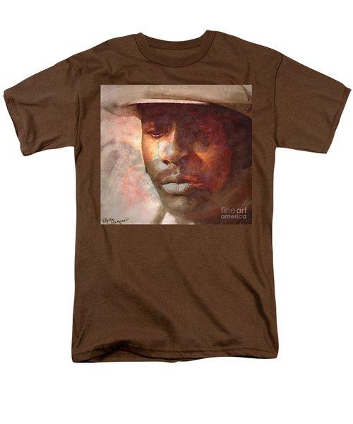 Donny Hathaway Men's T-Shirt  (Regular Fit) by Vannetta Ferguson