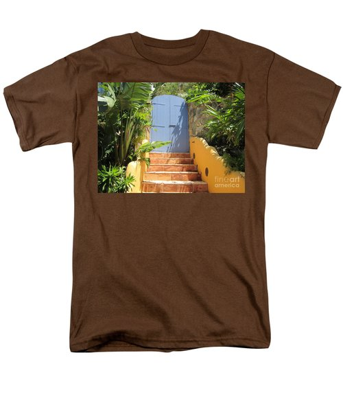 Men's T-Shirt  (Regular Fit) featuring the photograph Doorway To Paradise by Fiona Kennard