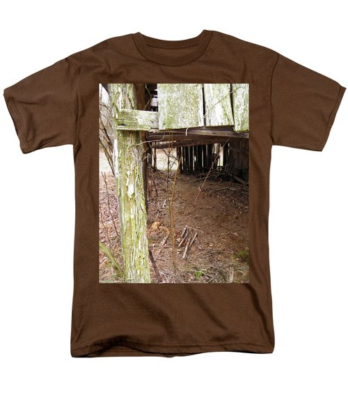 Men's T-Shirt  (Regular Fit) featuring the photograph Doorway To The Past by Nick Kirby