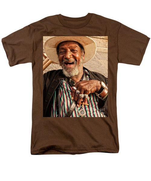 Dr. Luv New Orleans Men's T-Shirt  (Regular Fit) by Kathleen K Parker