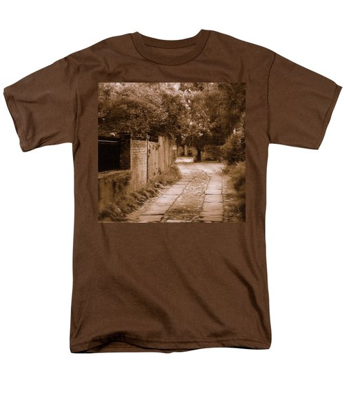 Men's T-Shirt  (Regular Fit) featuring the photograph Dream Road by Rodney Lee Williams
