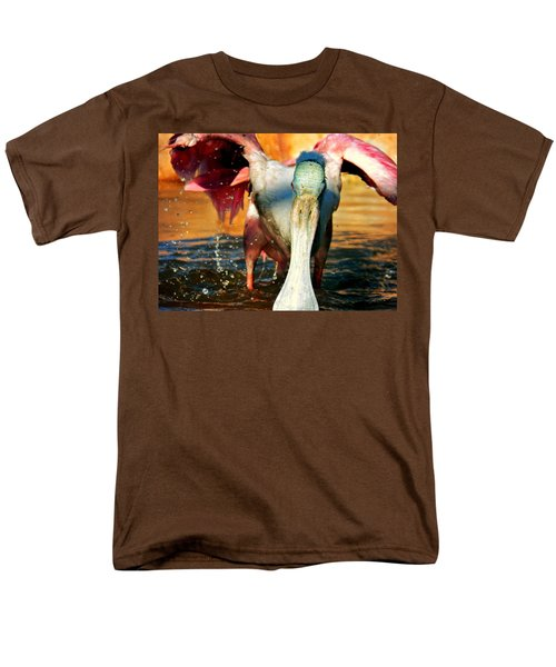 Men's T-Shirt  (Regular Fit) featuring the photograph Drenched by Faith Williams