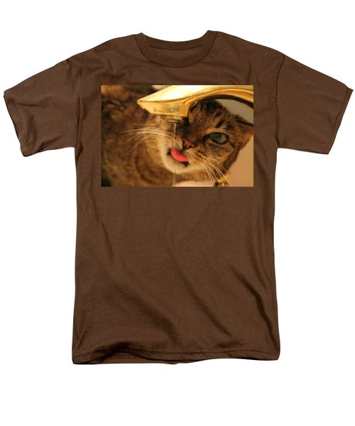 Drips On The Tongue Men's T-Shirt  (Regular Fit) by Catie Canetti