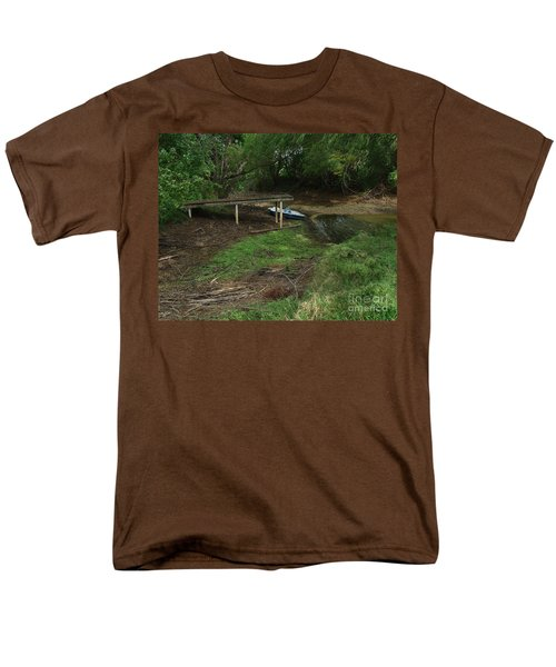 Dry Docked Men's T-Shirt  (Regular Fit) by Peter Piatt