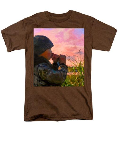 Duck Call Men's T-Shirt  (Regular Fit) by Michael Pickett
